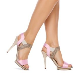 Madison by Shoedazzle Nude Pink Heels